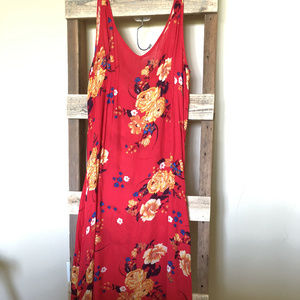 Intimately Free People Maxi Midi Floral Dress